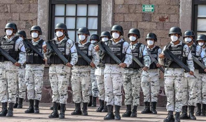 Ejercito y Guardia Nacional fortalecen vigilancia durante campañas electorales