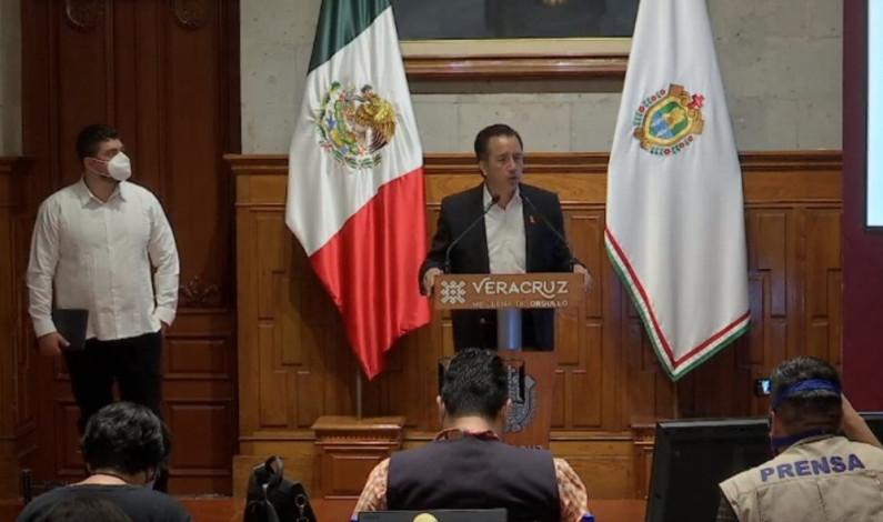 Deuda de Veracruz es de 52 mil millones de pesos, informa gobernador