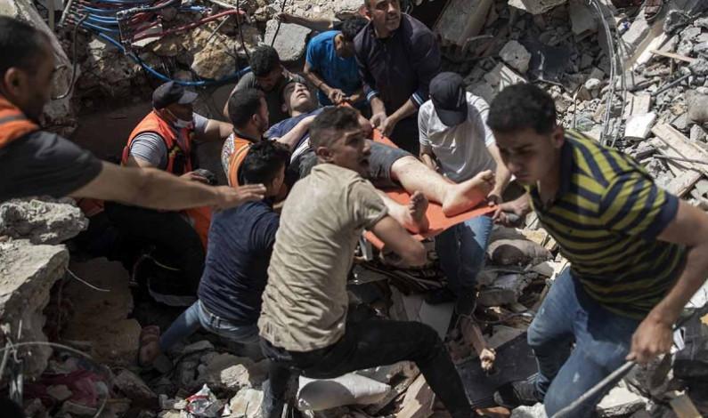 Israel lanza nueva ronda de bombardeos sobre Gaza
