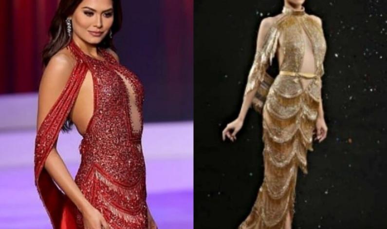Acusan de plagio al vestido con el que Andrea Meza ganó Miss Universo