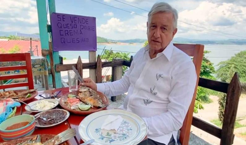 Supervisa López Obrador hidroeléctricas en Chiapas
