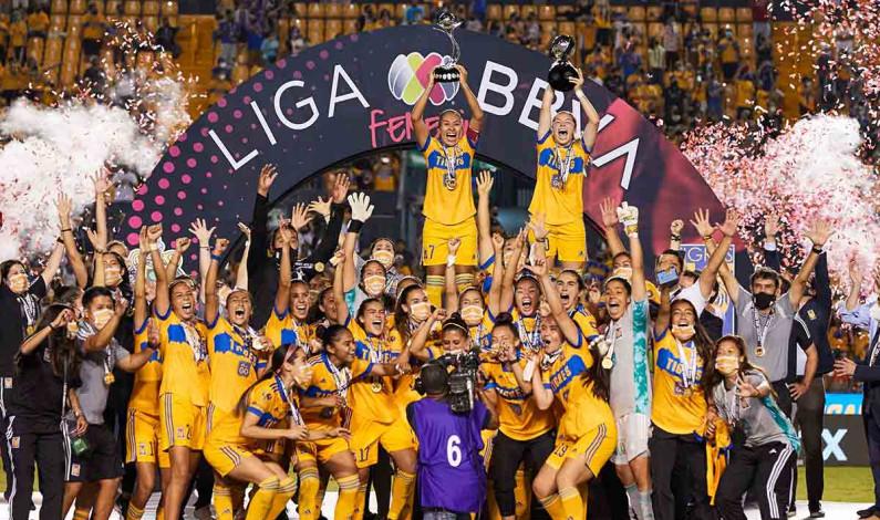 Tigres Femenil, primeras bicampeonas del futbol mexicano