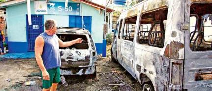 Violencia en Brasil por homicidio de narco