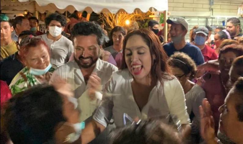 Morena y PVEM encabezan preferencias en el norte de Veracruz