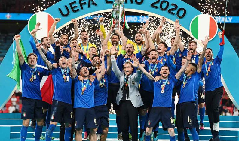 Italia conquista la segunda Eurocopa de su historia