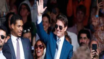 Tom Cruise acude a la final de Wimbledon y de la Eurocopa el mismo día