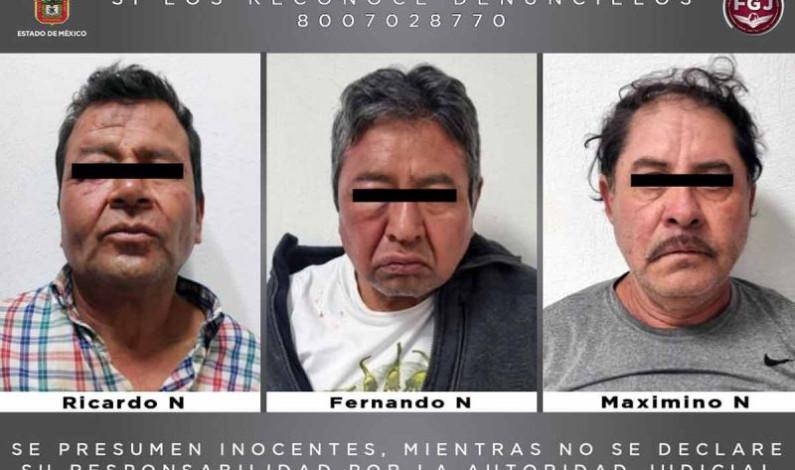 Liberan a comerciante secuestrado en Edomex; caen tres plagiarios