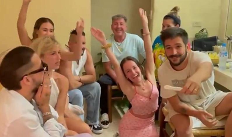 ¿Digan: tíos? así revelaron Camilo y Evaluna a los Montaner que serán papás